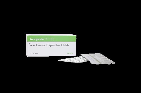Aclopride -100 Aceclofenac DT