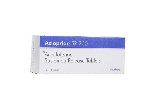 Aclopride- Aceclofenac (SR) Tablets