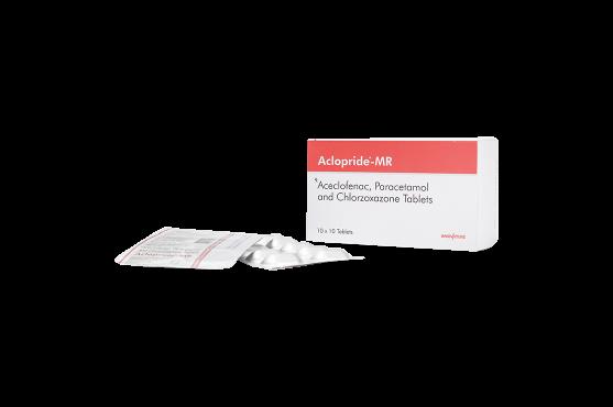 Aclopride-MR -Aceclofenac -Paracetamol-Chlorzoxazone Tablets