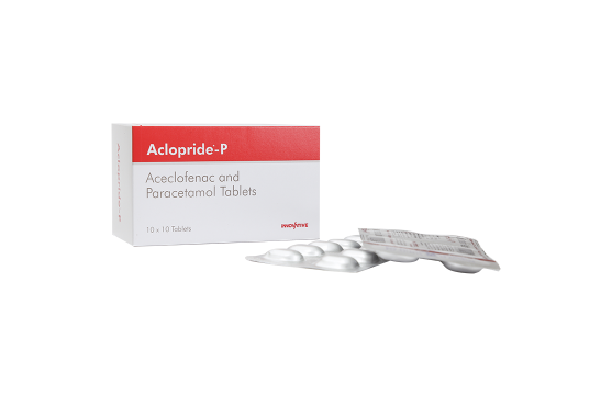 Aclopride-P Aceclofenac Paracetamol - Tablets