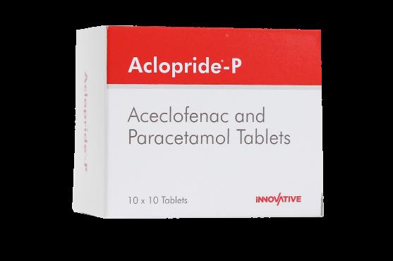 Aclopride-P Aceclofenac Paracetamol- Tablets