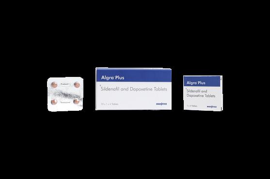 Algra Plus- Sildenafil Citrate Dapoxetine Tablets