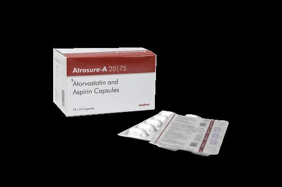 Atrosure-A - Atorvastatin Aspirin Capsules