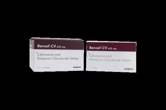 Bencef-CV Cefuroxime Axetil Potassium Clavulanate Tablets