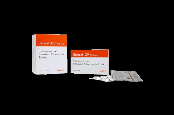 Bencef-CV Cefuroxime Potassium Clavulanate