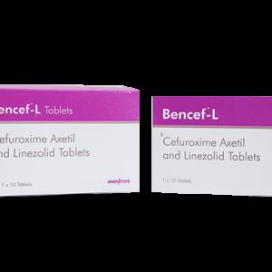 Bencef - Cefuroxime Axetil & Linezolid Tablets