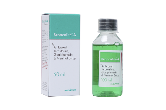 Broncolite A Ambroxol Syrup