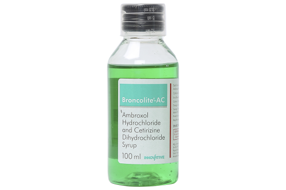 Broncolite - AC Syrup 100 ml