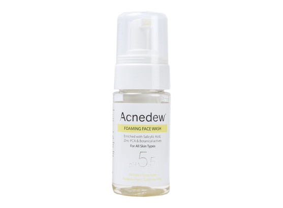 Acnedew Anti-Acne Foaming Face Wash bottle
