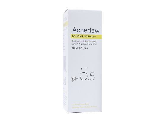 Acnedew Anti-Acne Foaming Face Wash box
