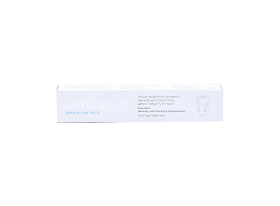 Dentopride Sensitive Toothpaste box