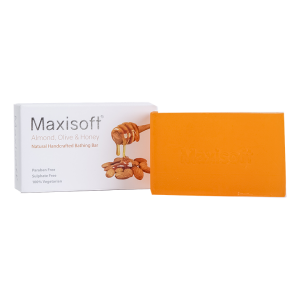Maxisoft Almond Olive Honey Bathing Bar