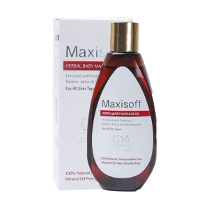 Maxisoft Herbal Baby Massage Oil
