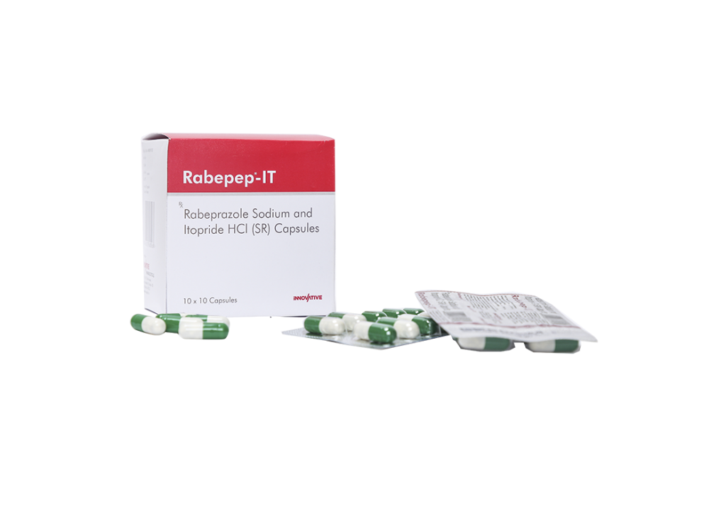 Rabepep-IT Capsules | Itopride HCl | Anti-Ulcerants | Suppliers in India
