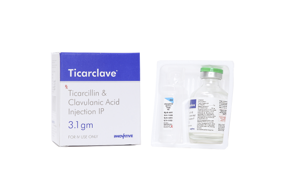 Ticarclave- Ticarcillin & Potassium Clavulanate Injection